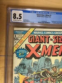 Giant-Size X-Men #1 CGC 8.5 OW To White Pgs. Marvel Bronze Key 1st New Team