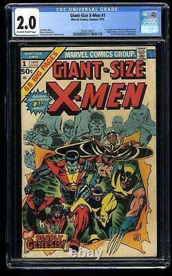 Giant-Size X-Men #1 CGC GD 2.0 Off White to White