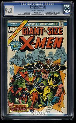 Giant-Size X-Men #1 CGC NM- 9.2 Off White to White
