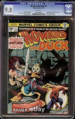 Howard the Duck # 1 CGC 9.8 White (Marvel, 1976) 1st issue of series