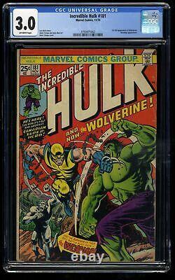 Incredible Hulk #181 CGC GD/VG 3.0 Off White