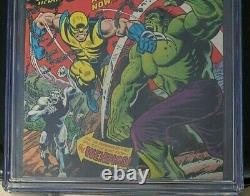 Incredible Hulk 181 Cgc 8.0 1st Full App Wolverine White Pages Marvel 1974