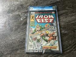Iron Fist #14 CGC 9.6 NM White Pages 1st app Sabretooth