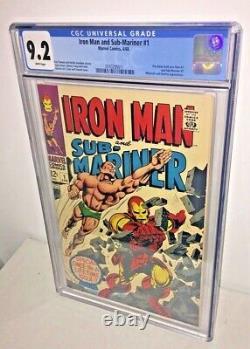 Iron Man and Sub-Mariner #1, CGC 9.2, White Pages