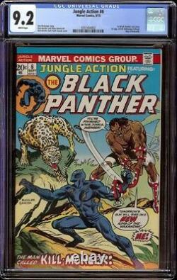 Jungle Action # 6 CGC 9.2 White (Marvel, 1973) 1st appearance of Kill Monger