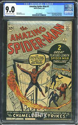 Marvel Comics Amazing Spider-Man #1 CGC 9.0 Off White to White