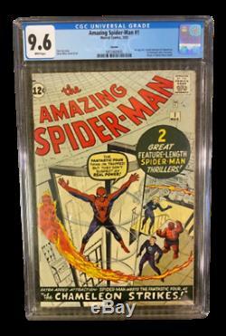 Marvel Comics Amazing Spider-Man #1 CGC 9.6 White Pages