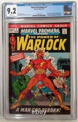 Marvel Premiere #1 Cgc 9.219721st App. Of Adam Warlock / Soul Gemwhite