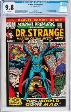 Marvel Premiere #3 Cgc 9.8 White Pages Doctor Strange Series Begins 0051852001