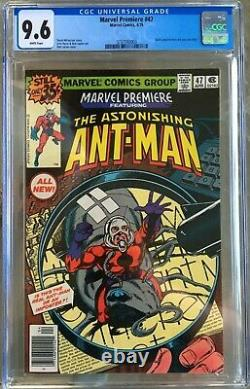 Marvel Premiere #47 (1979) CGC 9.6 - White pgs 1st ever Scott Lang as Ant-Man