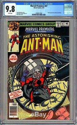 Marvel Premiere #47 Cgc 9.8 Nm/mt White Scott Lang Becomes New Ant-man