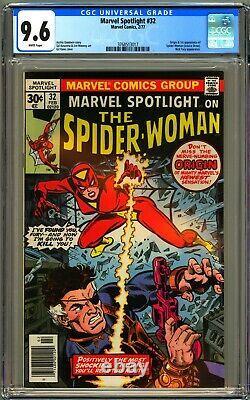 Marvel Spotlight #32 Cgc 9.6 White Nm+ 1st Spider-woman Jessica Drew