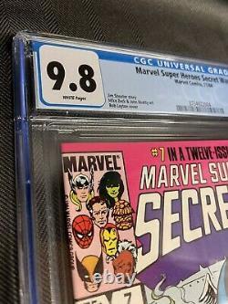 Marvel Super Heroes Secret Wars #7 Cgc 9.8 White Pages