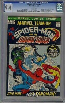 Marvel Team Up 1 Cgc 9.4 White 1972 Spidey, Torch 1st App Misty Knight Best Ebay