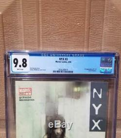 NYX #3 CGC 9.8 WHITE Pages 1st Appearance of X-23 Laura Kinney Wolverine X-Men 1