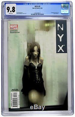NYX #3 CGC 9.8 White 1st X- 23 Laura Kinney