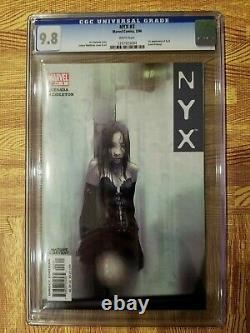 NYX #3 CGC 9.8 White Pages 1st Appearance X-23 Laura Kinney Wolverine's Daughter