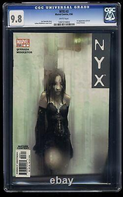NYX #3 CGC NM/M 9.8 White Pages 1st X-23