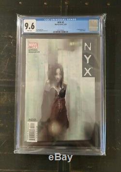 NYX #3 (Marvel 2004) CGC 9.6 White Pgs 1st Appearance X-23 Laura Kinney