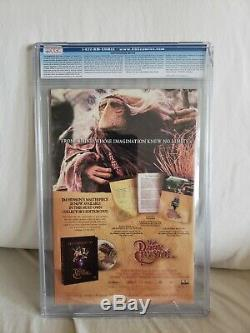 NYX 3 (Marvel) CGC 9.8 White Pages 1st X-23 Cracked Case