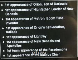 New Gods #1 CGC 9.4 White Pgs 1st Orion Kalibak Apokolips 71 Marvel Comics
