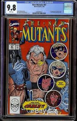 New Mutants # 87 CGC 9.8 White (Marvel 1990) 1st appearance of Cable Movie