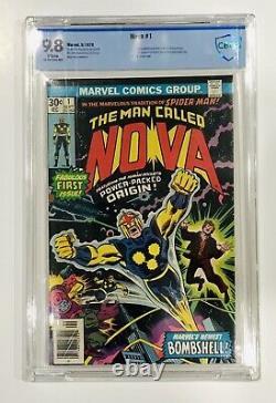 Nova 1 9.8 WHITE CBCS Not CGC First Appearance Of Nova/Richard Rider