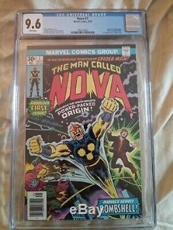 Nova #1 CGC 9.6 NM+ White Pages 1st App & Origin Of Nova Marvel Comic Key