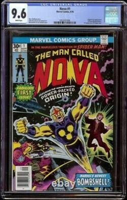 Nova # 1 CGC 9.6 White (Marvel, 1976) 1st appearance Nova