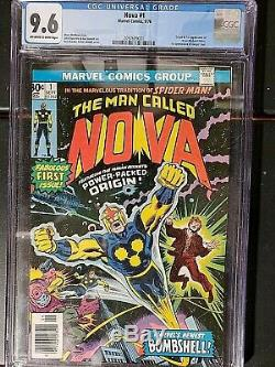 Nova #1 Cgc 9.6 White Pages Origin And 1st Appearance Richard Rider