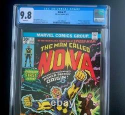 Nova #1 Cgc 9.8 Nm/mt White Pages 1st App Richard Rider, Ginger Jaye Marvel