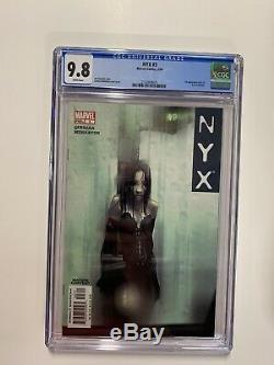 Nyx 3 Cgc 9.8 White Pages Marvel X-23