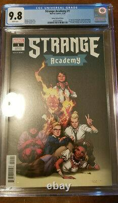 STRANGE ACADEMY #1 OPENA VARIANT 150 CGC 9.8 White Pages