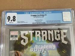 STRANGE ACADEMY #1 Ramos Variant 125 CGC 9.8 White Pages 2020 1st Appearance