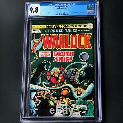 STRANGE TALES #179 (1975) CGC 9.8 WHITE PGs 1ST PIP the TROLL! WARLOCK