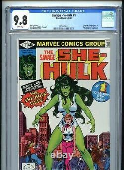 Savage She-Hulk #1 CGC 9.8 White 1st Appearance
