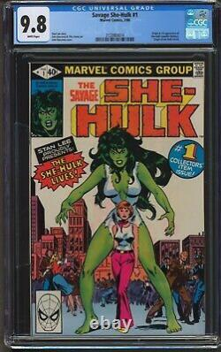 Savage She-Hulk #1, CGC 9.8 White Pages, 1st Appearance and Origin, Marvel
