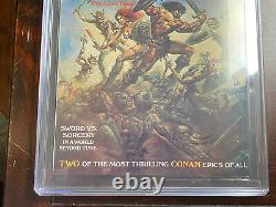 Savage Sword of Conan #1 (1974) CGC 9.8 White Pages Red Sonja Story