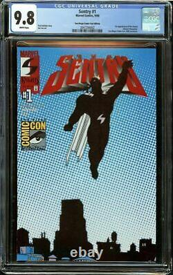 Sentry #1 (2000) SDCC Variant CGC 9.8 White Pages 1st Appearance