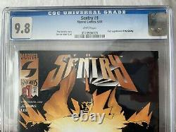 Sentry #1 CGC 9.8 White Pages 1st Sentry (Robert Reynolds) Appearance 2000