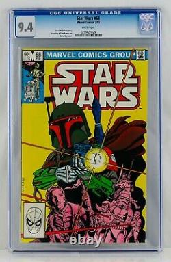 Star Wars #68 CGC 9.4 White Pages First Mandolorian Appearance 1st App Boba Fett