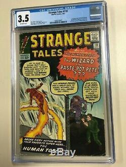 Strange Tales #110 1963 CGC 3.5 Off-White 1st Appearance Doctor Strange