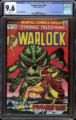 Strange Tales # 180 CGC 9.6 White (Marvel, 1975) 1st appearance Gamora