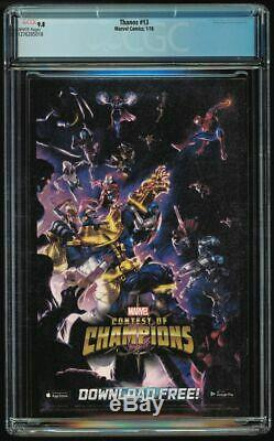 Thanos #13 CGC 9.8 white 1st Cosmic Ghost Rider Intro Cates A cover