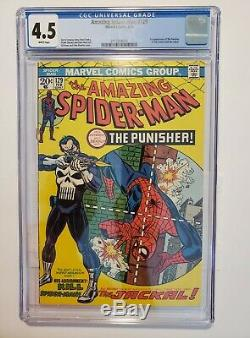 The Amazing Spider-Man #129 (Feb 1974 Marvel) CGC 4.5 White Pages