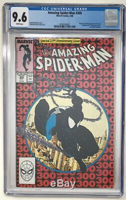 The Amazing Spider-Man #300 CGC 9.6 White Pages 1st App Venom ASM Eddie Brock