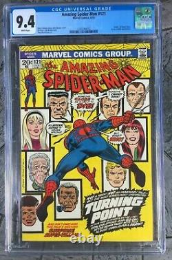 The Amazing Spider-man #121 Cgc 9.4 White Pages Major Marvel Key