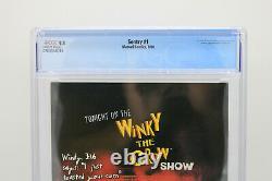 The Sentry #1 CGC 9.81st Sentry / Void Marvel Jae Lee 2000 Jenkins White Pgs