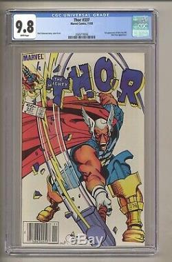 Thor 337 (CGC 9.8) White pages 1st app. Beta Ray Bill Simonson 1983 (c#28365)