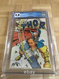 Thor #337 Cgc 9.8 White Pages 1st Beta Ray Bill